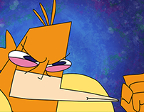 """Seahorse Man"" background art"