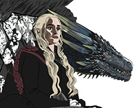 Khaleesi dragon
