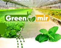 LOGO DESIGN - Дизайн логотипа Green mir