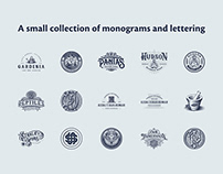 Vintage Monograms and Lettering collection