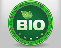 Bio certification label (downloadable)