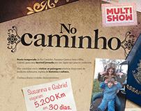 MultiShow - No Caminho - Infograph