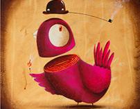 !!!NEWS - Funny bird