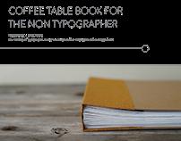 Narrative + Specimen Coffee Table Book