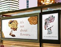 It's not about flowers — design concept
