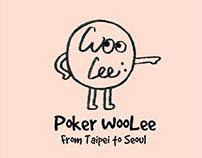 Poker Woolee Blog | Logo Design | 嗚哩韓國戳一下部落客Logo