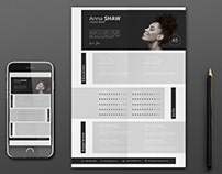 Pisces Resume Template