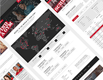 World Gym Website Design