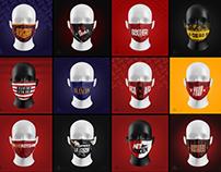 Football Masks Collection   unykmasks.com