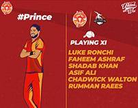 Islamabad United (PSL Team) Playing XI #PSL4