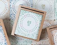 Календарь c подставкой / Calendar
