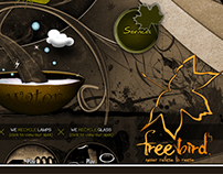 CLIENT: FREE BIRD - INTERACTIVE DESIGN / ILLUSTRATION