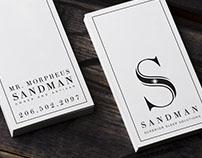 Sandman logo design
