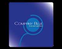 Logotype Company Blue