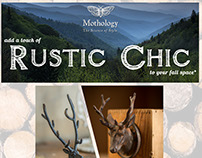 Email Marketing- Rustic Chic