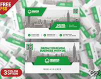 Awesome Business Card PSD Template Set