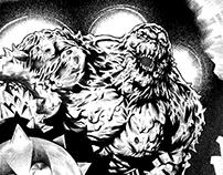 Detective comics inks 2017
