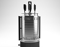 Electric Barbecue Maker