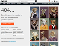 Plexuss  Student Network 404 Page