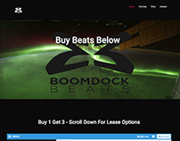 Musical Website Boomdock Beats