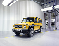 Mercedes-Benz G-Class Beauty Motifs & Crazy Colors