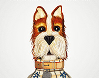 Illustration: Boss from Isle of Dogs