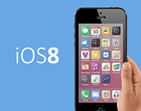 iOS 8 icons rethinked