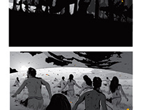 "THE FIRST 3 PAGES FROM BOOK 1 - ""SHEOL"""