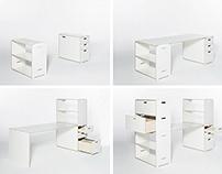 Pila - das modulare Büromöbelsystem