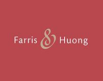 Farris & Huong logo/charte