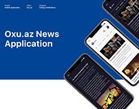 Oxu.az News Application