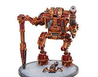 Primus battlegear - Miniature sculpture