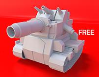 Mini Military Tank-03