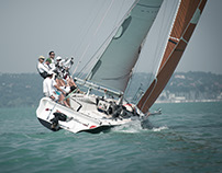 Sailing on Balaton