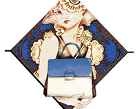 Valentino MIME bag Illustration