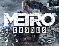 Metro Exodus : Game Informer Cover (Mar 18 issue)