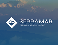 SerraMar Esquadrias de Alumínio | Identidade Visual