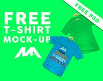 T-shirt PSD Mock-up - Free Download