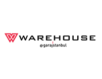 Warehouse @garajistanbul Logo Design