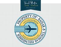 Travel Sticker - Logo Design