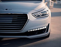 2016: UX Strategy on Hyundai Genesis Reveal Site Launch