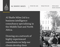 Al Shafie Miles Website: responsive web design