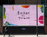 Passport to Taiwan - Brand Identity