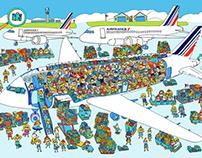 Illustration for Air France