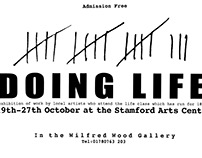 Exhibition Poster for Life Drawing Class