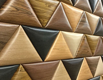 3D wooden panel VIENNA