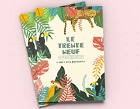 'LE TRENTE NEUF' | Illustration & Mise en Page
