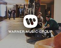 Warner Music Group Site Resign