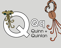 Quinn + Quinlan. Letter Print, Story.