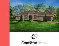 Cape West Homes - Web Design -